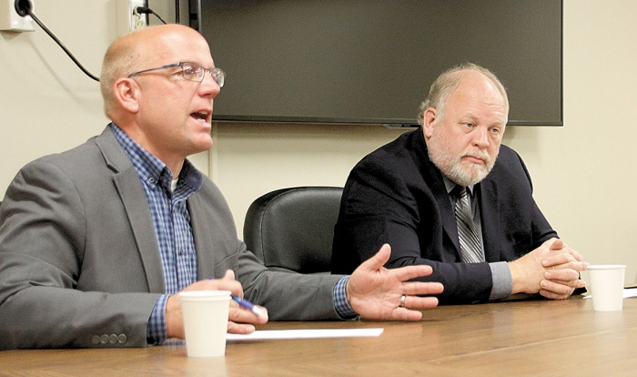 District 17A Rep. Tim Miller, R-Prinsburg, is seeking a third term in the state House. He is being challenged by former state senator and representative Lyle Koenen, DFL- Clara City.