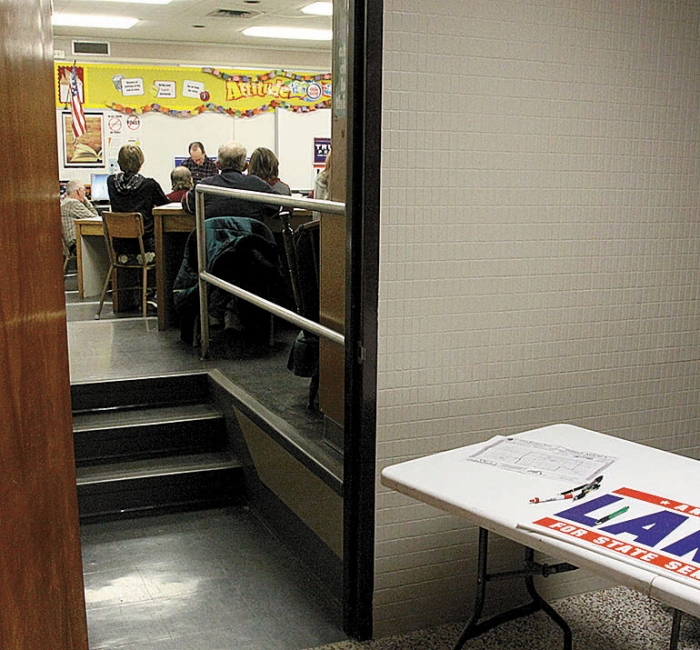 Republicans met at the Benson High School. Caucus turnout was very low for both parties though DFLers had a slight edge.