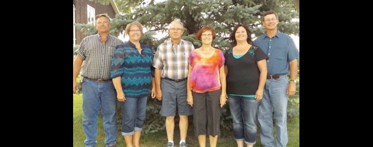 Pictured are members of the Wentzel Family Farm.