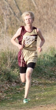 Josh Bailey capped a great season of cross-country for Benson-KMS with a state berth at the Section 6A meet last week at Long Prairie-GE.