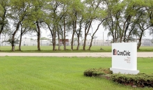 CoreCivic's Prairie Correctional Facility in Appleton is putting itself in line to get illegal immigrants arrested by ICE and being held for deportation. Photo by Leslie Ehrenberg.