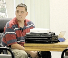 Jonathan Pogge-Weaver submitted his resignation from the Benson City Council Monday night.