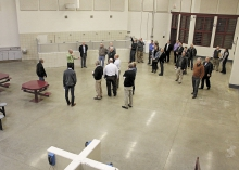 Legislators tour the Prairie Correctional Facility in November.