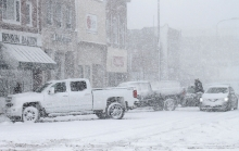 Minnesota was hit by a major winter storm Monday and into Tuesday, giving the area another big dose of snow.  Schools throughout the state were called off Monday and most also had a late start, Tuesday.